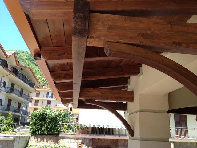 Tecnowood Brescia, copertura in legno