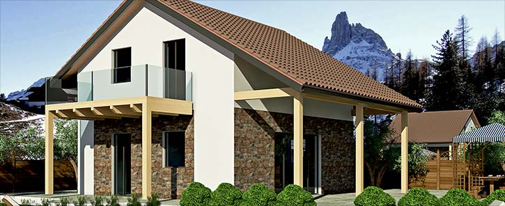 Tecnowood Lombardia, tempi casa in legno