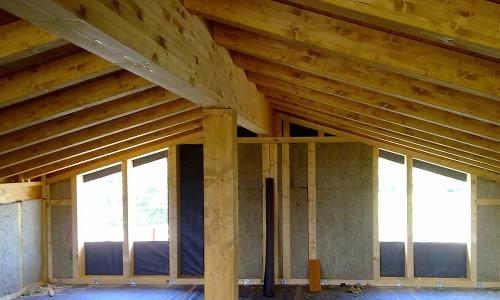 Tecnowood Brescia, tetto in legno