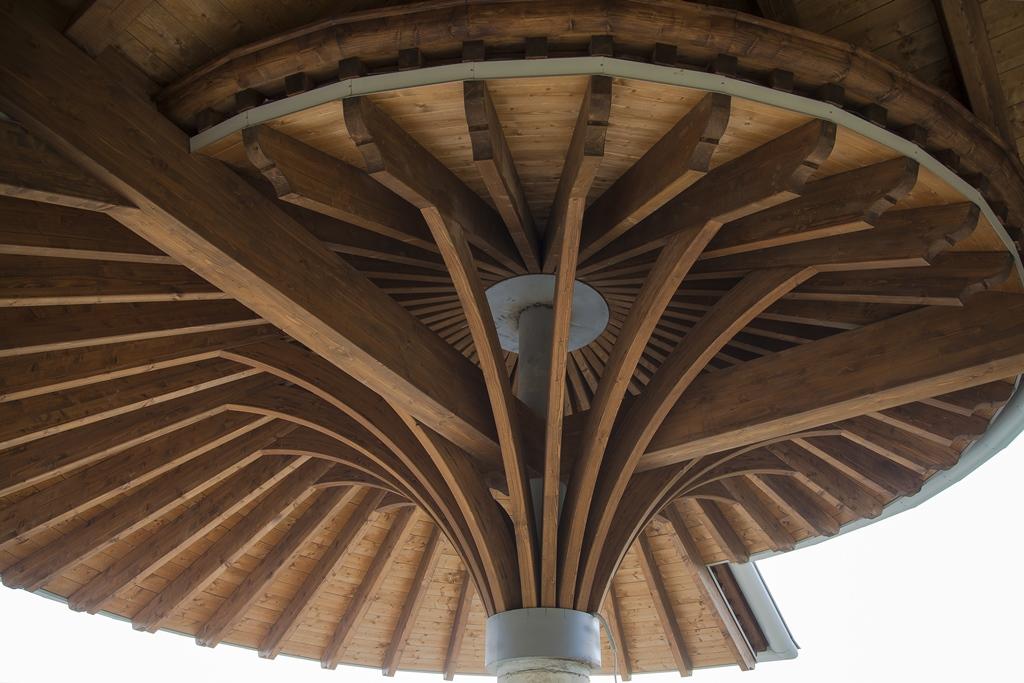 Tecnowood Brescia, tettoia in legno
