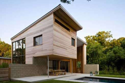 Tecnowood, casa in legno a Brescia