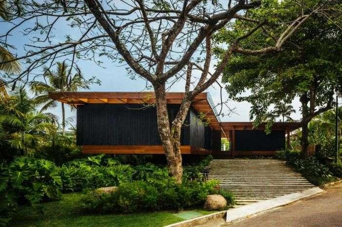 Tecnowood Brescia, casa in legno di design