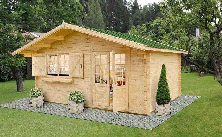 Tecnowood Brescia, casette in legno lamellare per il giardino