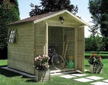 Tecnowood Brescia, casette in legno per il giardino