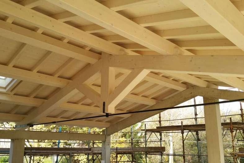 Tecnowood Brescia, come realizzare una copertura in legno