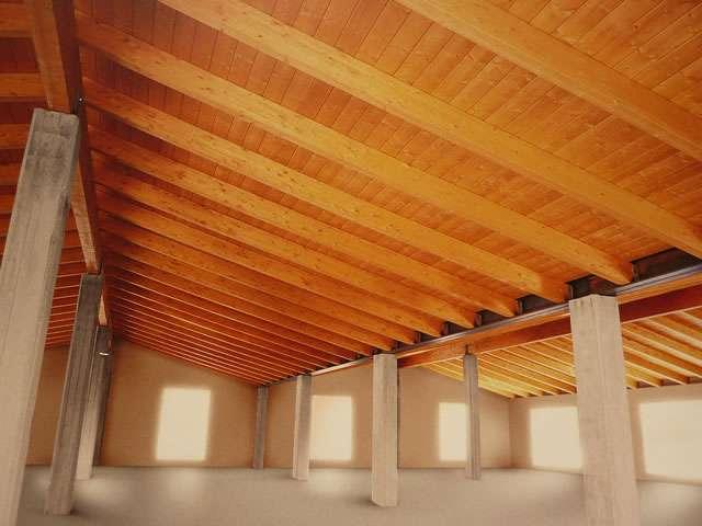 Tecnowood Brescia, caratteristiche del tetto in legno