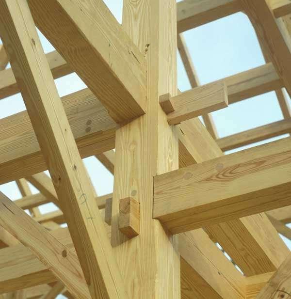Tecnowood Brescia, pergolato in legno