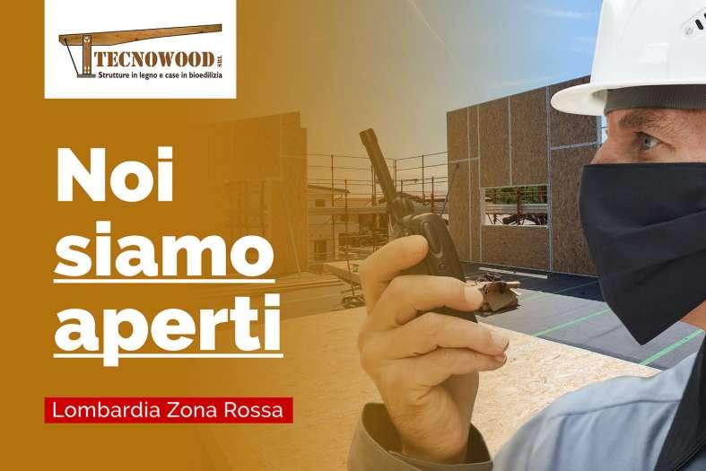 Tecnowood legno, Lombardia zona rossa