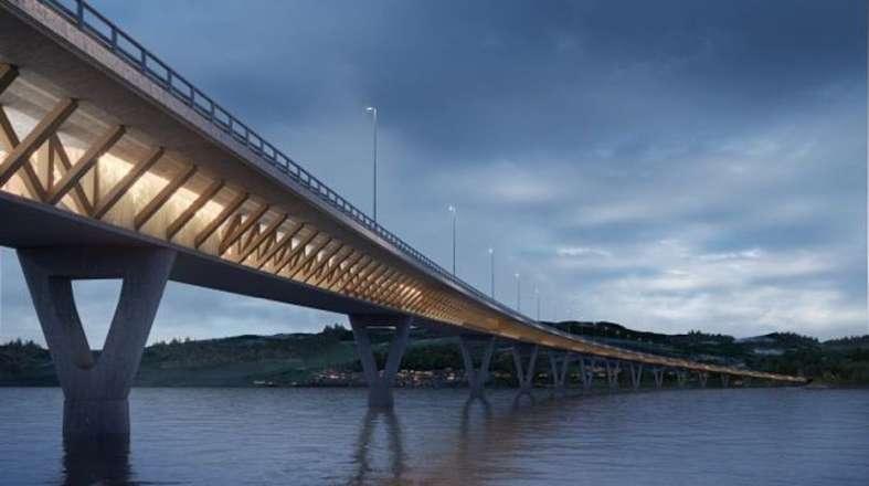 Ponte in legno Tecnowood