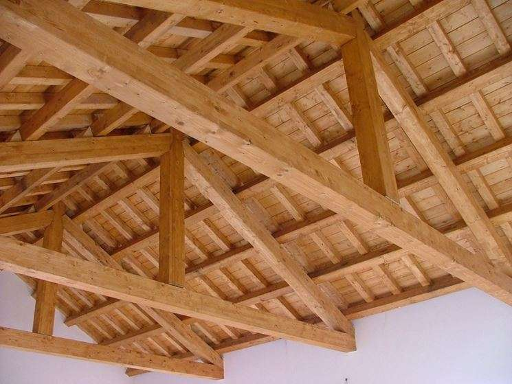 Tecnowood Brescia, tetti in legno lamellare