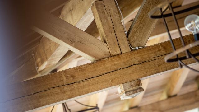 Tecnowood, ristorante Pietracavalla copertura in legno