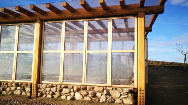 Tecnowood Brescia, pergole in legno coperte per il freddo